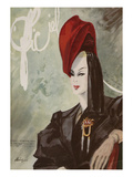 L&#39;Officiel, February 1944 Prints by  Lbenigni