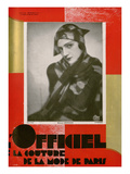 L'Officiel, February 1929 - Mme Brewster Posters by  Madame D'Ora