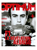 L'Optimum, October 2003 - Fernando Alonso Prints by Andrea Klarin