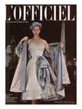 L'Officiel, June 1951 - Ensemble de Jacques Fath Poster by Philippe Pottier