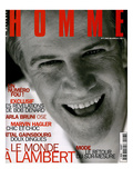 L'Optimum, December 1996-January 1997 - Christophe Lambert Habillé Par Armani Prints by Richard Wright