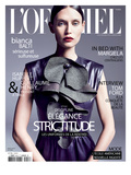 L'Officiel, September 2011 - Bianca Balti Posters by Marcin Tyszka
