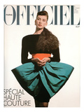 L'Officiel, September 1986 - une Robe de Pierre Cardin Posters by Benjamin Kanarek