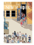 The New Yorker Cover - September 17, 2012 Premium Giclee Print by Chris Ware