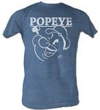 Popeye - Face Logo T-shirts