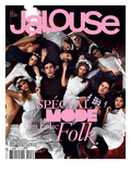 Jalouse, February 2008 - Whitney, Esti, Janaina Prints by Sam Basset