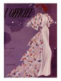 L'Officiel, June 1937 - Madeleine Vionnet Poster von  Lbenigni