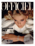 L'Officiel, October 1982 Prints by Antonio Guccione
