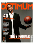 L'Optimum, September 2003 - Tony Parker Premium Giclee Print by Benoit Peverelli
