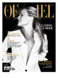 L&#39;Officiel, April 2007 - Robin Wright Penn Porte une Veste Yves Saint Laurent Prints by Daniel Gebbay