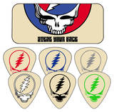 Grateful Dead - Steal Your Face - Cream Guitar Picks Plektre