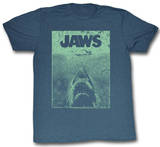 Jaws - Green Jaws T-skjorter