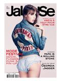 Jalouse, May 2011 - Astrid Bergès-Frisbey Kunst av Paul Schmidt