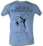 Rocky &amp; Bullwinkle - Magic Trick T-Shirt