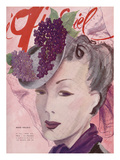 L'Officiel, March 1941 - Rose Valois Premium Giclee Print by  Lbenigni