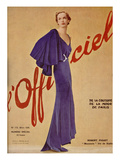 L'Officiel, March 1936 - Tout Paris de Piguet Prints