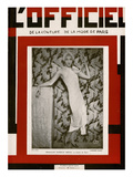 L'Officiel, April 1928 - Danielle Brégis Au Casino de Paris Posters by  Madame D'Ora