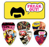 Frank Zappa - Yellow Guitar Picks Palhetas guitarra e violão