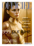 L'Officiel, December-January 1999 - Jayne Windsor Posters by Ricardo Tinelli
