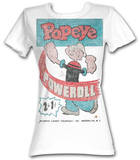 Juniors: Popeye - Powerroll T-shirts