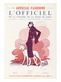 L'Officiel, December 1924 - Sleeping Premium Giclee Print by Paul Poiret
