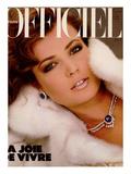 L'Officiel, December 1982 - Christian Dior Haute Posters van Jim Dorrance