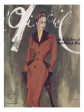 L'Officiel, October 1941 - Collections d'Automne Posters van Lbenigni