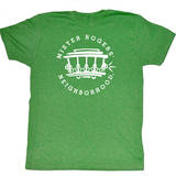 Mister Rogers - Ride This Trolley T-shirts