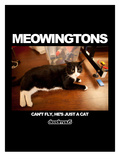 deadmau5 - Meowingtons -  Can't Fly, He's Just a Cat Art