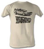 Back To The Future - Dmc Ink Shirt