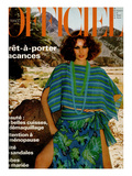 L'Officiel, May 1977 - Guy Laroche Diffusion, Poncho Court et Jupe À Taille Basse Posters by Rodolphe Haussaire