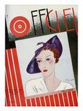 L'Officiel, February 1935 - Marie Alphonsine Posters by S. Chompré & A.P. Covillot