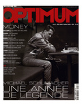 L&#39;Optimum, December 2001-January 2002 - Michael Schumacher Kunstdrucke von Peter Marlow