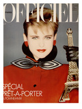 L'Officiel, August 1982 - Claude Montana Prints by Claus Wickrath