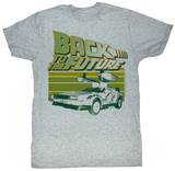 Back To The Future - Green Flight T-Shirt