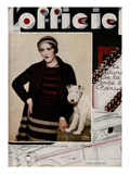 L'Officiel, November 1929 - Mlle S. Knudsen Prints by Madame D'Ora & A.P. Covillot