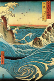Navaro Rapids, c.1855 Posters by Ando Hiroshige