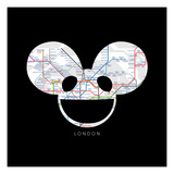 deadmau5 - London Premium Giclee Print