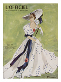 L'Officiel - Robe de Garden Party de L. Mendel Prints by  Mourgue