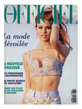 L'Officiel, June 1992 - Niki Taylor, Top Star, en Gianni Versace Poster by Jonathan Lennard