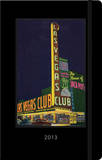 Las Vegas Vintage Postcard - 2013 Planner Calendars