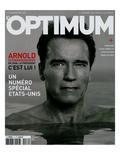 L'Optimum, November 2004 - Arnold Schwarzenegger Art par Eddie Adams