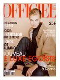 L'Officiel, November 1996 - Jessica Hopper, Mannequin et Actrice, Habillée Par Jil Sander Posters by  Hiromasa