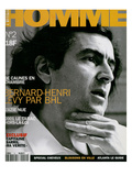 L'Optimum, May 1996 - Bernard-Henry Lévy Posters by Marcel Hartmann