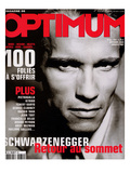 L'Optimum, December 2000-January 2000 - Arnold Schwarzenegger Posters by John Stoddart