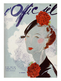 L'Officiel, May 1937 - Le Monnier Prints by  Lbenigni