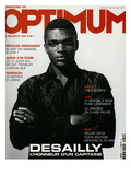 L'Optimum, June-July 2002 - Marcel Desailly Premium Giclee Print by Jan Welters