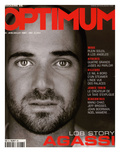 L'Optimum, June-July 2001 - André Agassi Premium Giclee Print by Martin Schoeller