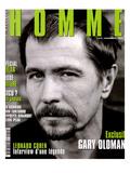 L'Optimum, November 1997 - Gary Oldman Plakater av Marcel Hartmann