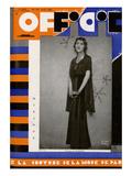 L'Officiel, August 1931 - Comtesse Ghislain de Maigret Posters by Madame D'Ora & A.P. Covillot